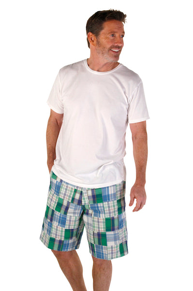 Men's Madras Bermuda Short - Westwood