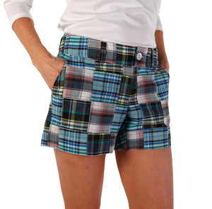 Women's Jenna Shorts - Berkshire/Cape/Blue Seersucker