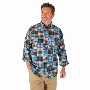 Men's Madras Long Sleeve Shirt - Berkshire