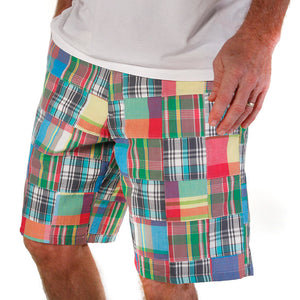 Men's Madras Bermuda Shorts - Lenox