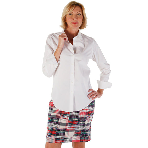 Women's Pencil Skirt - Surf/Cape/Crescent