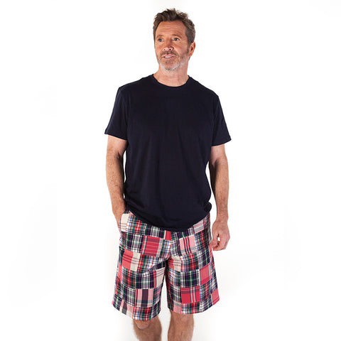 Men's Madras Bermuda Shorts - Surf