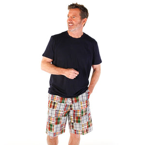 Men's Madras Bermuda Shorts - Vail