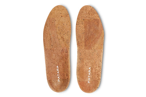 Men's Natural Cork Insole