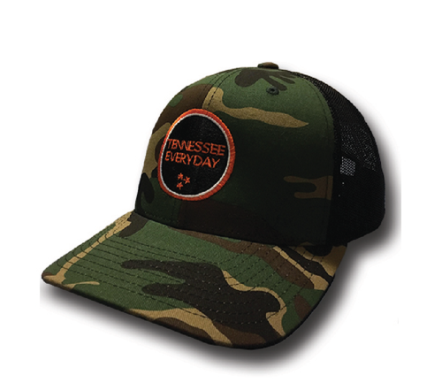The Tennessee Everyday Camo Hat - surf tennessee tennessee shirts