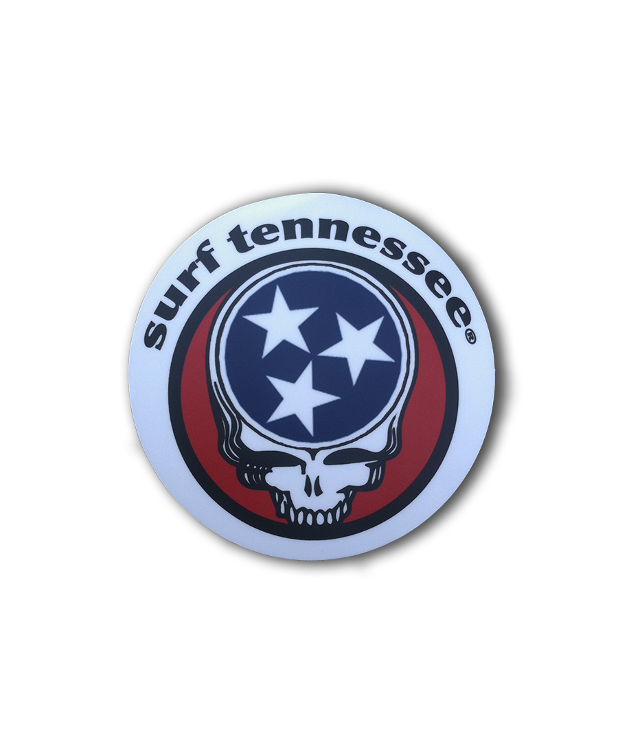The Manchester Sticker - surf tennessee tennessee shirts
