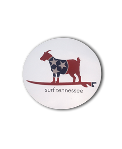 The Knox Sticker - surf tennessee tennessee shirts