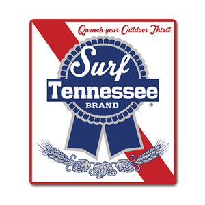 The PBR Sticker - surf tennessee tennessee shirts