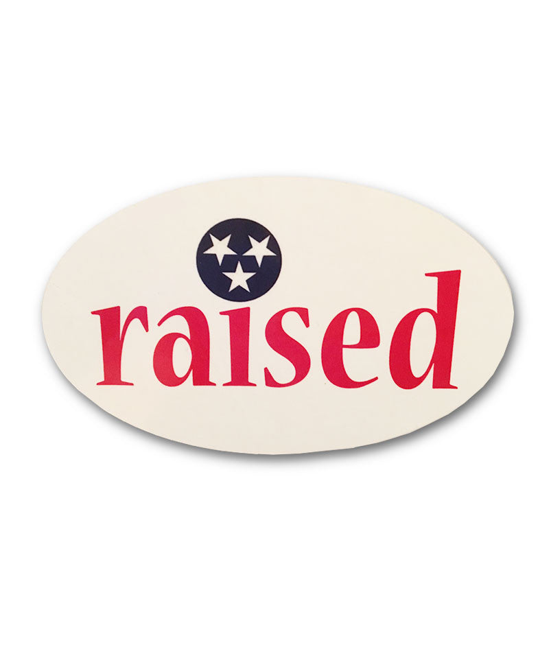 Raised Sticker - surf tennessee tennessee shirts