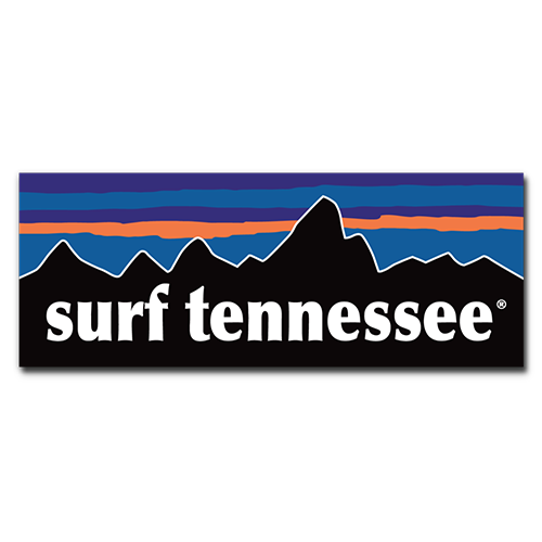 The Highlands Sticker - surf tennessee tennessee shirts
