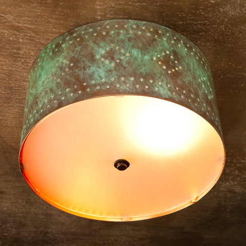 Ceiling Light - CFC, Espana design, Hint of Green patina