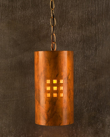 Pendant - CP, Windows-9, Ferric patina