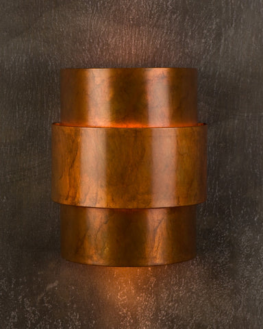 Wall Sconce-WSA, Solid, Ferric Patina