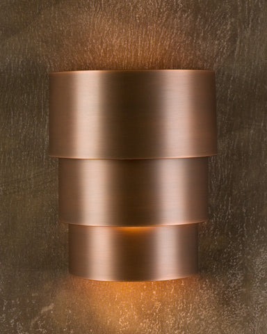 Wall Sconce - WSB, Solid, Medium Bronze