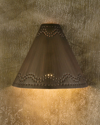 Wall Sconce-WSF, Santa Fe deign, Burnished copper