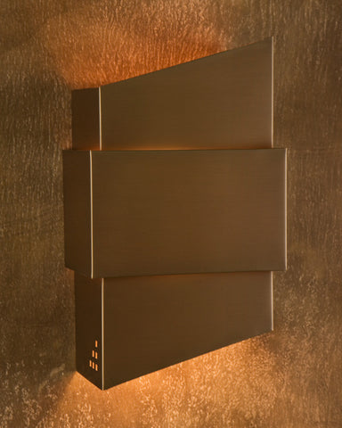 Wall Sconce-WZY-R, Cut out #7, Dark Bronze