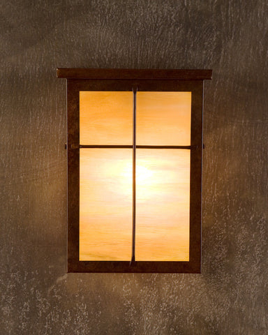 Wall Sconce - MSR, Mission,Rusty patina