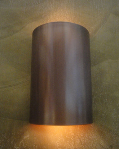 Wall Sconce-WS, Solid, Medium Bronze patina