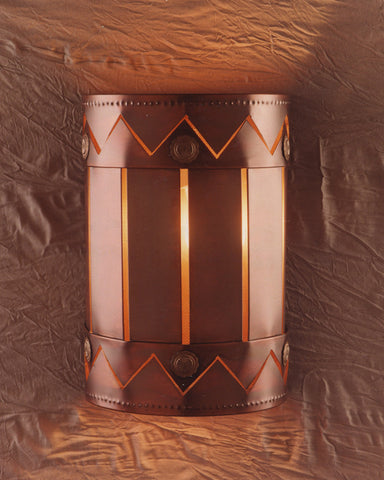 Wall Sconce - WS-Creative, Iridescent patina