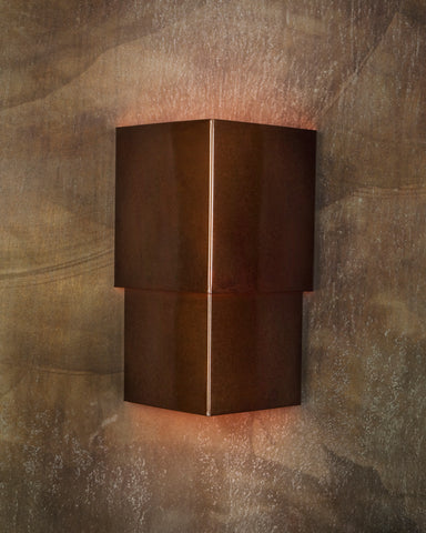 Wall Sconce-WSC-T, Rusty patina