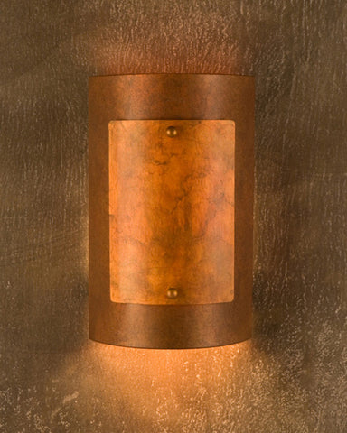 Wall Sconce - WS-RM, Rusty-Ferric patina