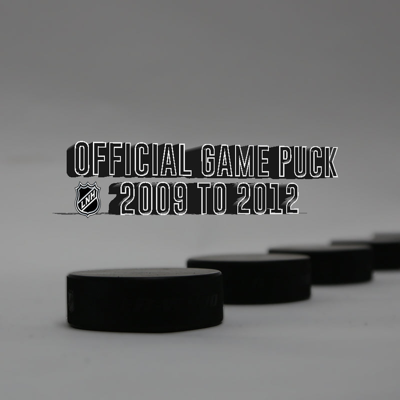 2009 TO 2012 OFFICIAL GAME PUCK COLLECTION