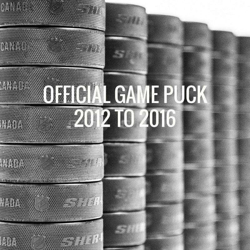 2012 TO 2016 OFFICIAL GAME PUCK