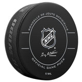 Vancouver Canucks Official Game Puck (2009 to 2011)