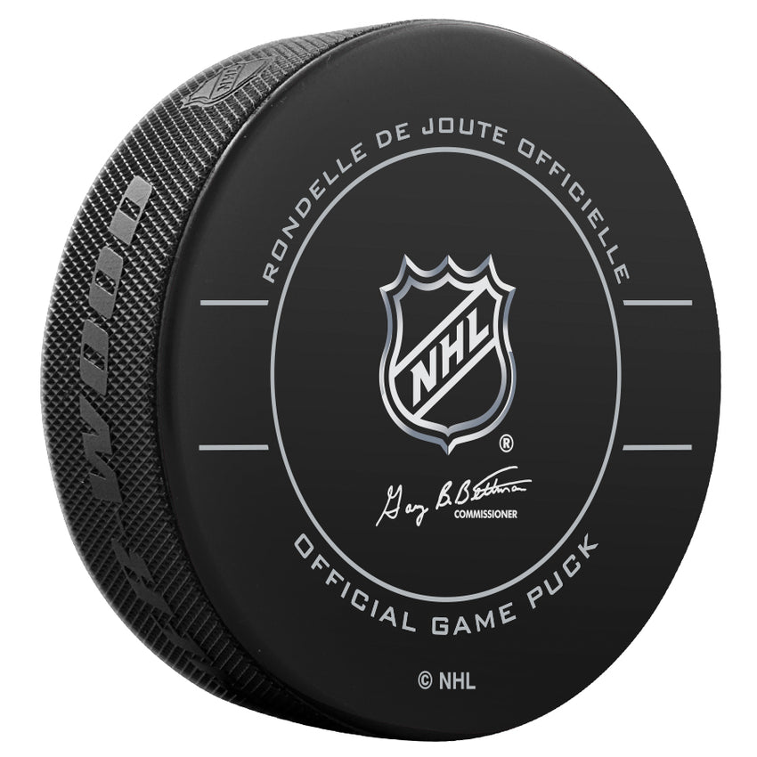 Calgary Flames Official Game Puck (2009 to 2011)