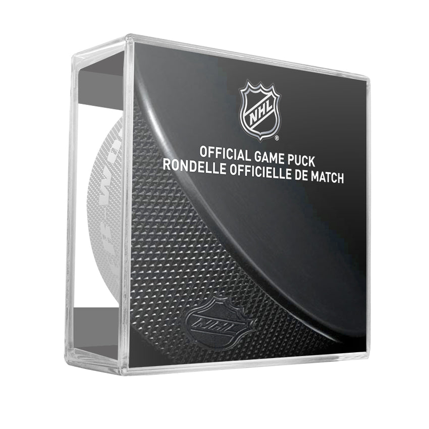 Boston Bruins Official Game Puck (2012 to 2016)