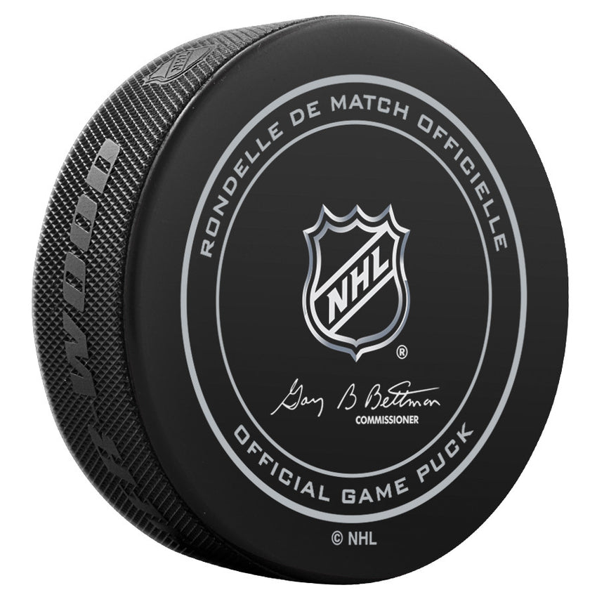 Vancouver Canucks Official Game Puck (2012 to 2016)
