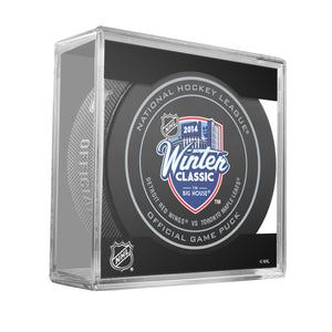 2014 Winter Classic Official Game Puck