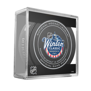 2015 Winter Classic Official Game Puck