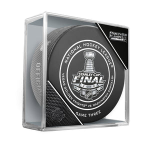 2018 Stanley Cup Final - Game 3 Official Game Puck
