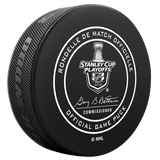 2018 Minnesota Wild Stanley Cup Playoffs Official Game Puck