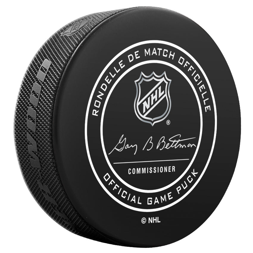 2018 NHL Winter Classic Official Game Puck
