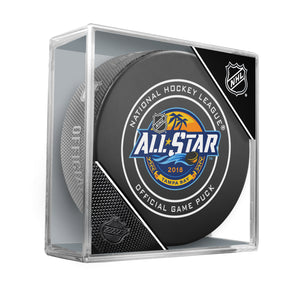 All-Star Official Game Puck Tampa 2018
