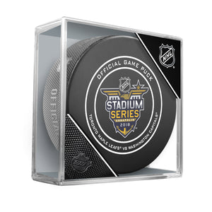 NHL Stadium Series 2018 Official Game Puck