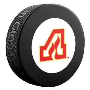 Atlanta Flames NHL Collectible Souvenir Puck 1972-73