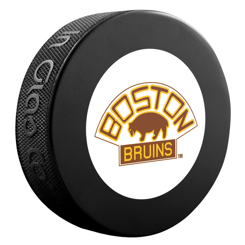 Boston Bruins NHL Collectible Souvenir Puck 1928-29