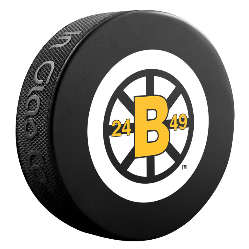 Boston Bruins NHL Collectible Souvenir Puck 1948-49