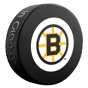 Boston Bruins NHL Collectible Souvenir Puck 1969-75