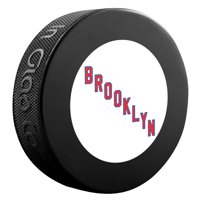 Brooklyn Americans NHL Collectible Souvenir Puck 1941-42