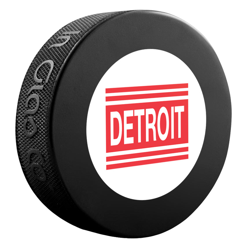 Detroit Red Wings (Cougars) NHL Collectible Souvenir Puck 1927-28