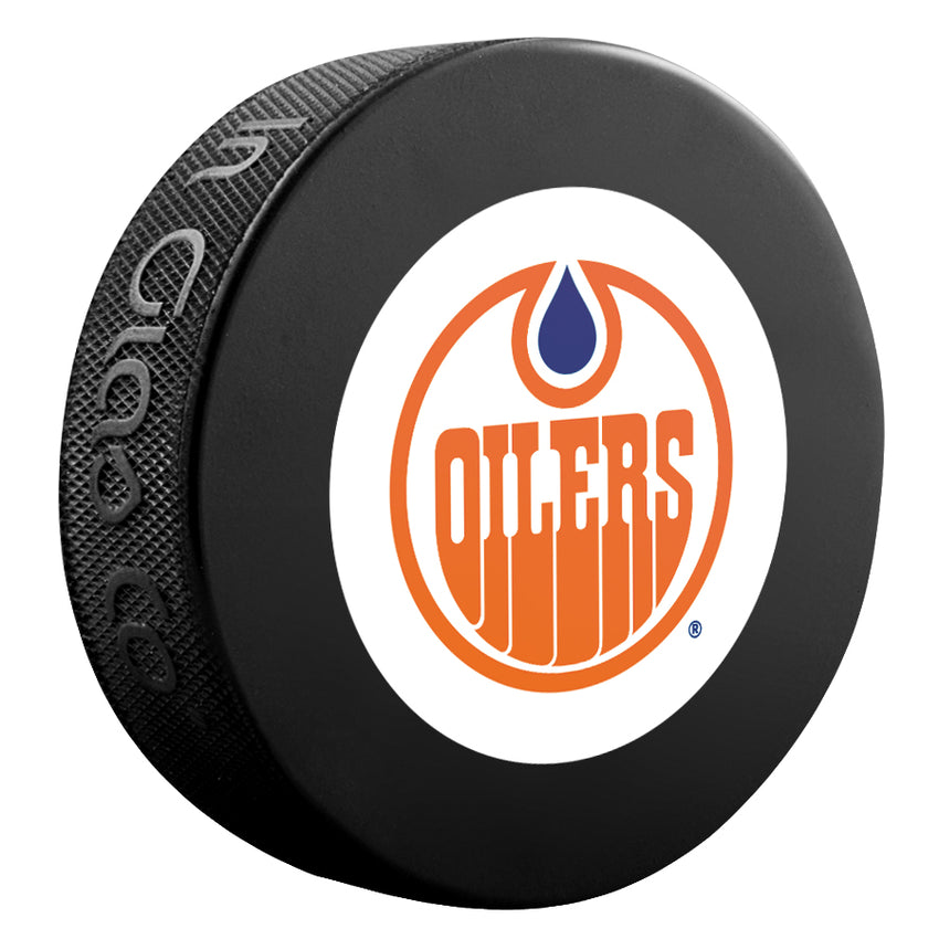 Edmonton Oilers NHL Collectible Souvenir Puck 1978-79