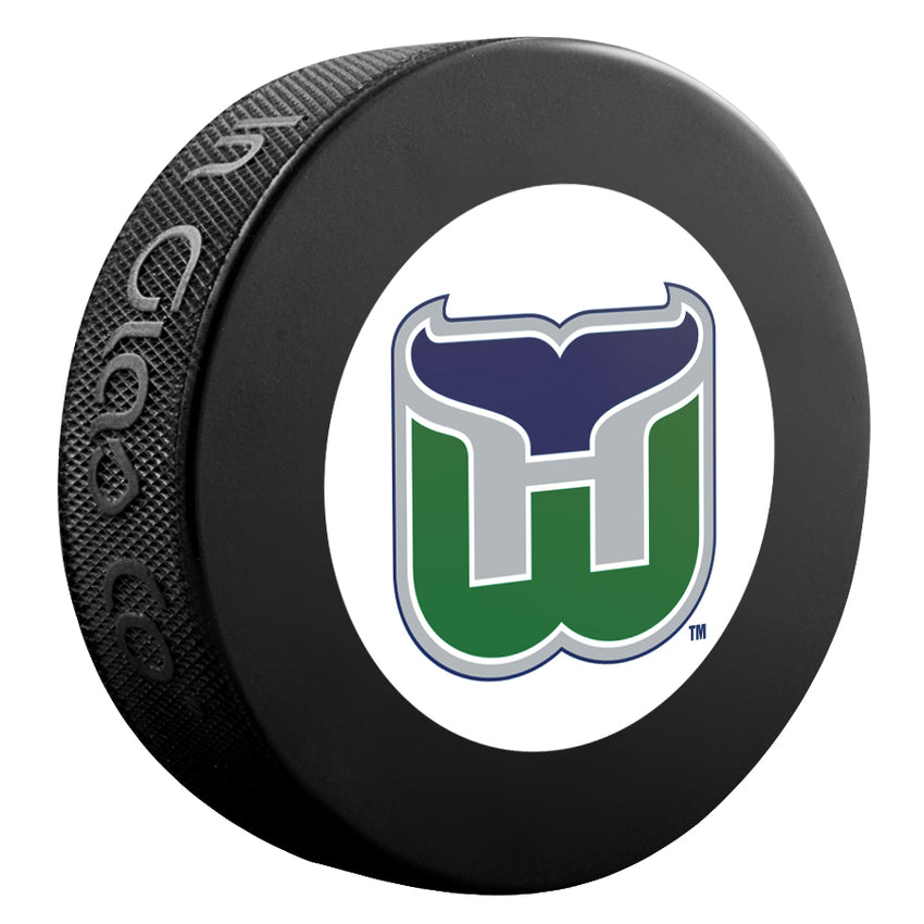 Hartford Whalers NHL Collectible Souvenir Puck 1992-97
