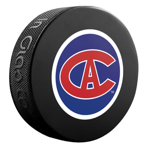 Montreal Canadiens NHL Collectible Souvenir Puck 1915-16