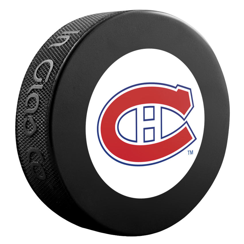 Montreal Canadiens NHL Collectible Souvenir Puck 1965-66