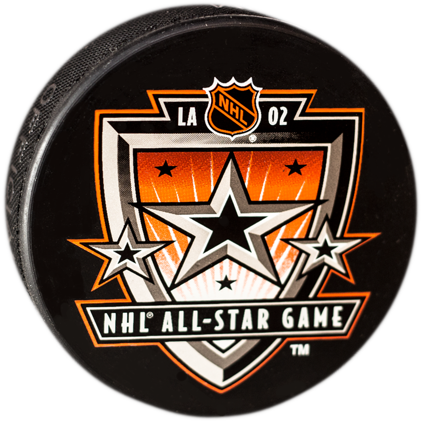 All-Star 2002 Los Angeles Puck
