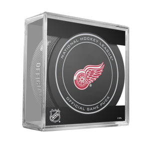 Detroit Red Wings Official Game Puck (2012 to 2016)